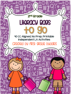 https://www.teacherspayteachers.com/Product/Literacy-Bags-for-2nd-Grade-To-Go-40-Printable-No-Prep-CC-Literacy-Centers-1755603