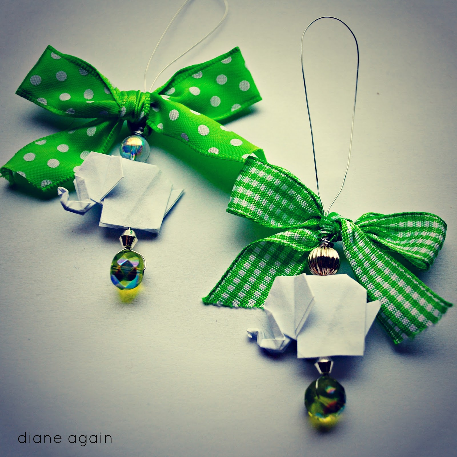 Picture Of Diy Origami Ornaments: Diane Again: My Handmade Holiday Ornament Tradition