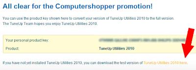 tuneup-2010-free-promoção