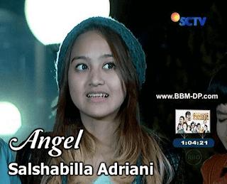 Foto Salshabilla Elovi sebagai Angel di Anak Jalanan RCTI
