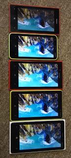 Perbandingan Kualitas Layar Keluarga Nokia Lumia