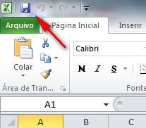 Excel 2010 - Salvando documento com senha