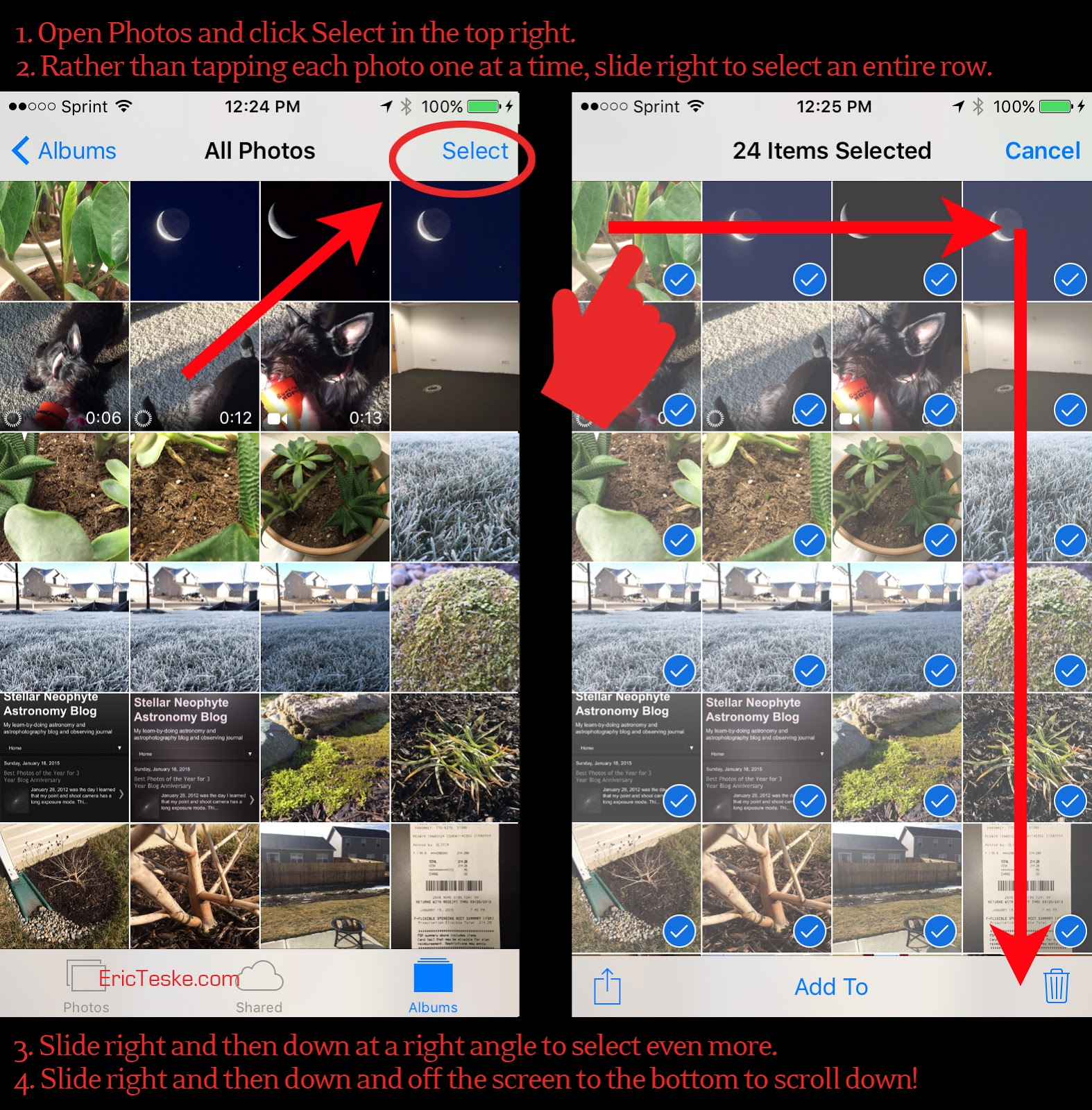 Simple Steps To Delete All Or Hundreds Of Iphone Photos At The Same Time  Without Additional