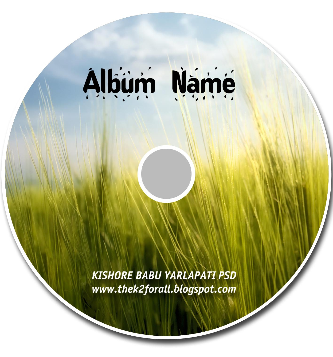 how to make a cd cover in photoshop