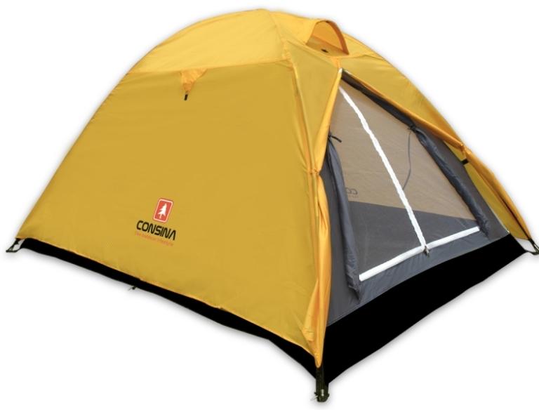 Kalau saya pribadi mempunya tenda yang hanya berukuran untuk 2 orang