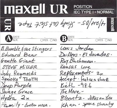 4/24/05 - Stinky Cat Shit Tape - Mix Tape