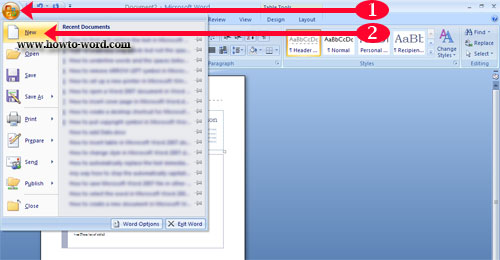 how to make a postcard in microsoft word