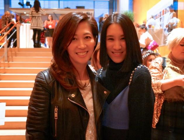Image of Josephina with Eva Chen
