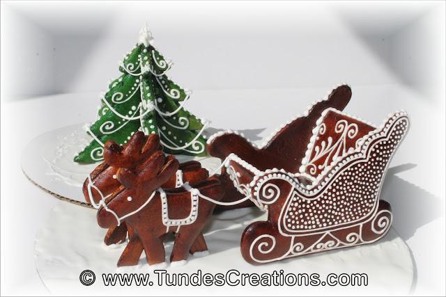 Santa Sleigh by Tunde Dugantsi