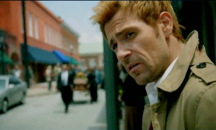 Constantine pilot reviews Matt Ryan photos trench coat pics