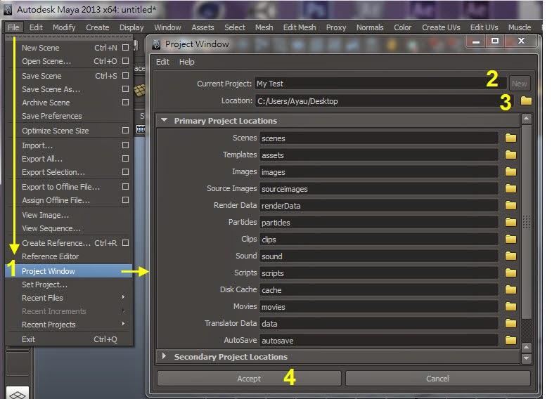 Maya Project Setting 02