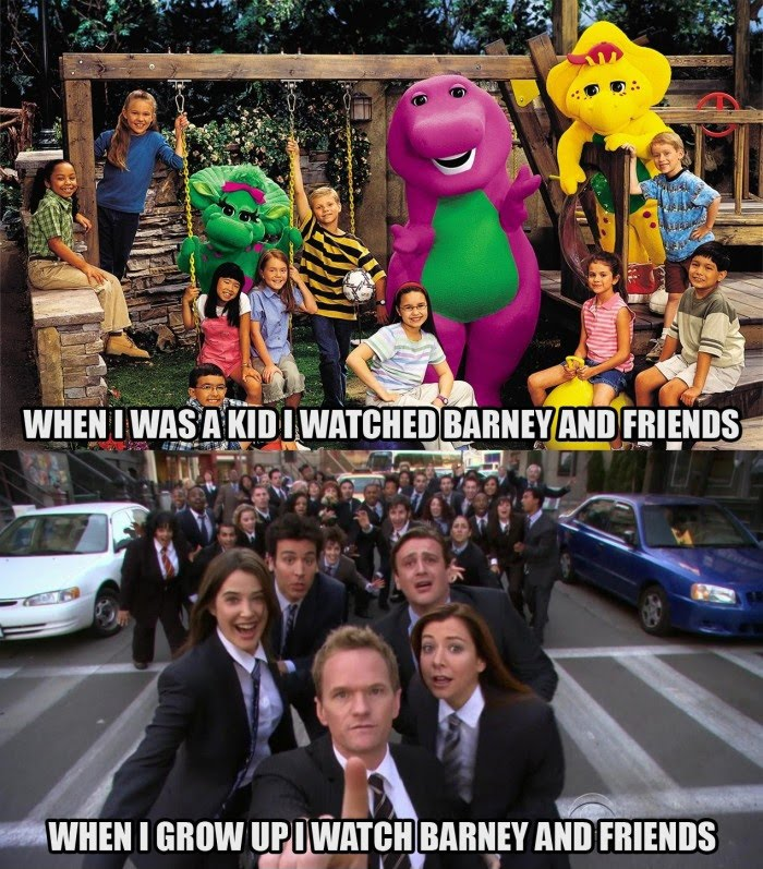 Watch Barney And Friends - Then And Now