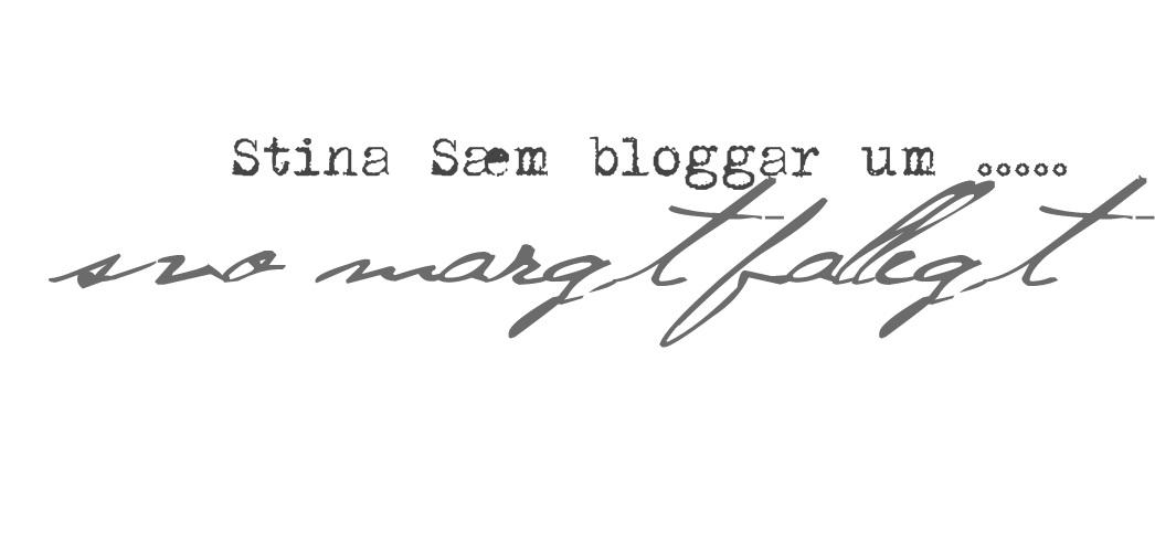 Stina Sæm bloggar um...