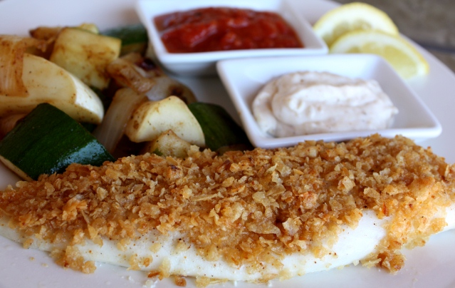 Onion Crusted Tilapia recipe by Barefeet In The Kitchen