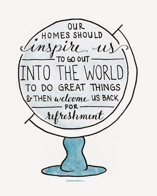 "Peachtree City Professional Organizer Reviews Book, ""Love the Home You Have"" by Melissa Michaels - Our Homes Should Inspire Us To Go Out Into the World To Do Great Things and then Welcome Us Back for Refreshement"