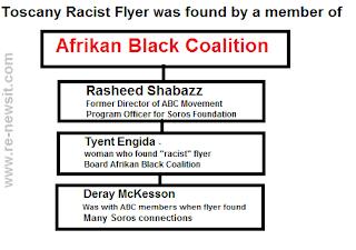 racist flyer