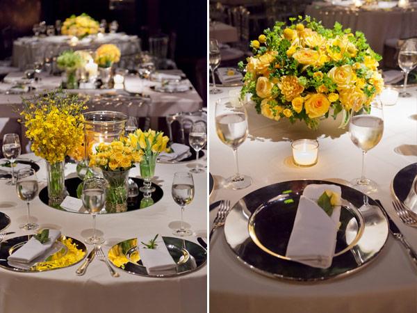 decoracao de casamento azul marinho amarelo e branco:Decoracao De Casamento