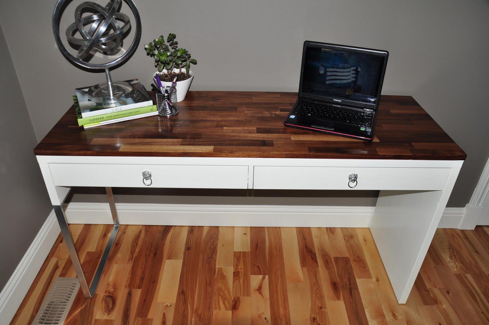 Micke desk fine tuned to high end glory ikea hackers for Ikea scrivania micke