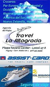 "Cruceros ""La Altagracia Travel"" Higuey"