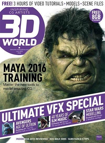 3D World Magazine July 2015