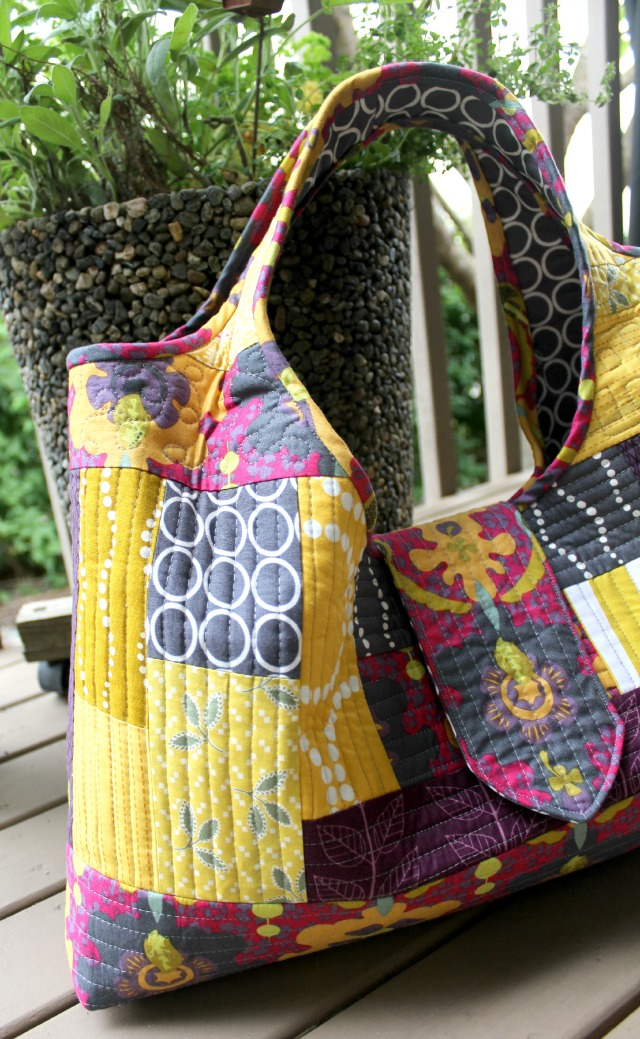 A Quilter's Table: A Tinker Tote : quilt as you go tote - Adamdwight.com