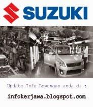 Lowongan Kerja Terbaru PT Suzuki Indonesia