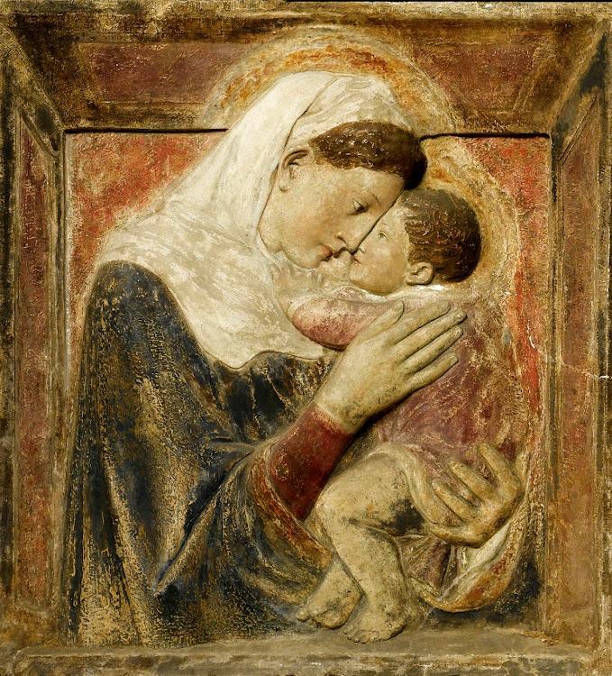 Donatello - Madonna and child