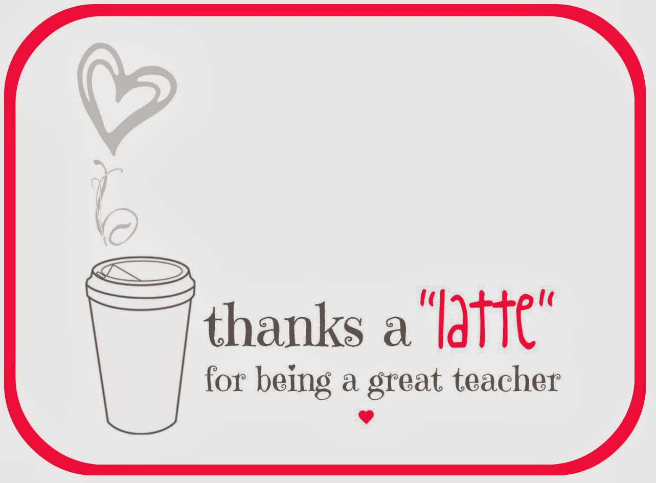 Gutsy image for thanks a latte printable