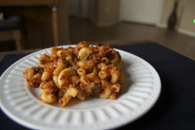 Day 300 american chop suey 365 days of baking forumfinder Choice Image