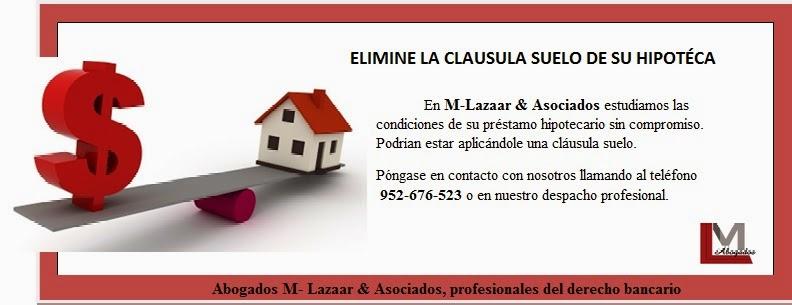 Rachid Mohamed Elimine La Clausula Suelo De Su Hipoteca