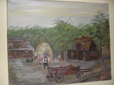 ulje na platnu,umetnička slika ŠUMADIJA 30cm x 40cm oil (neuramljeno ) cena 50e