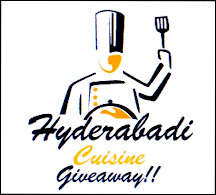 Giveaway From Hyderabadi Cuisine