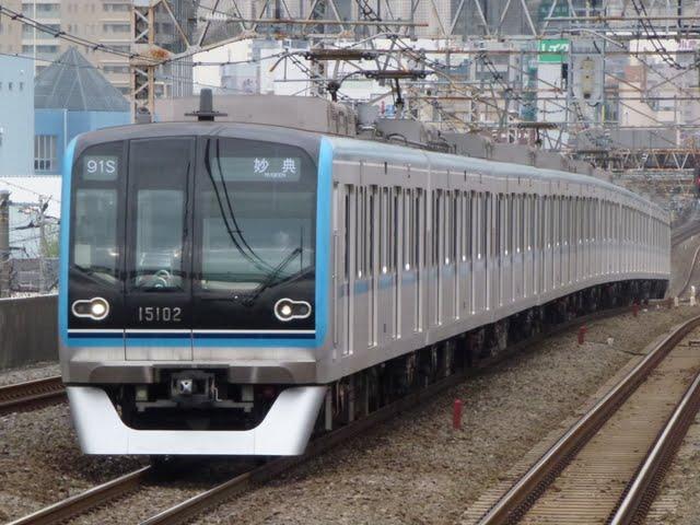 東京メトロ東西線 妙典行き5 15000系