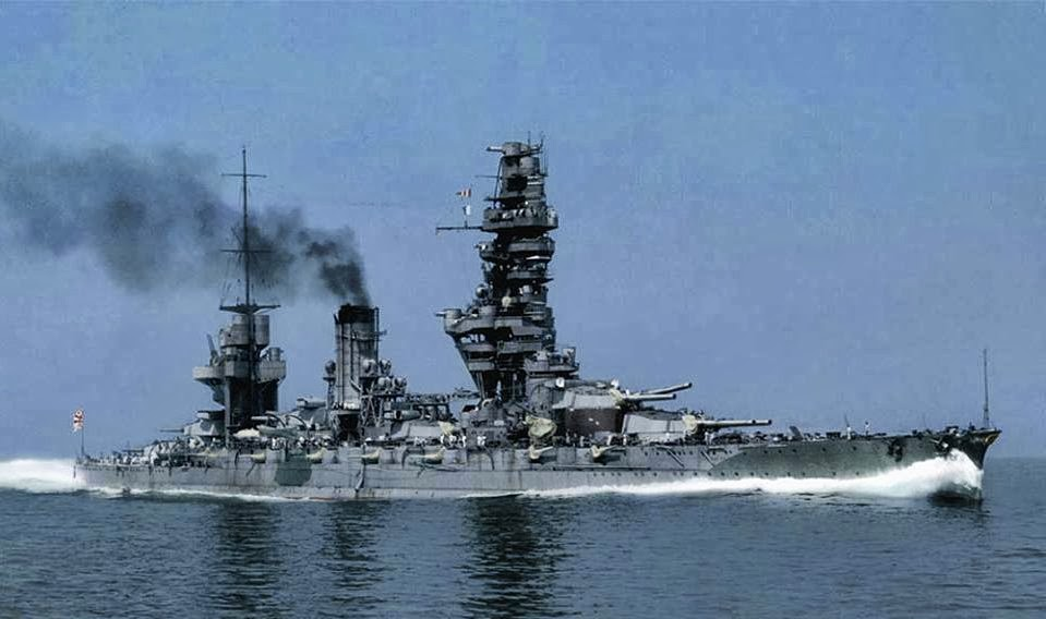 On the deck of a Japanese battleship 1930s 5