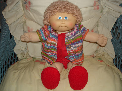 Forget Me Not My Cabbage Patch Doll Gets A New Sweater