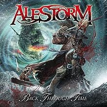 Alestorm, Back Through Time, tracks, listing, cd, audio, new, album, cover