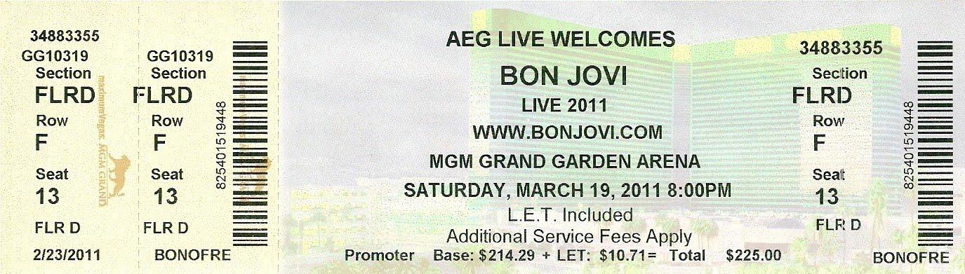 Jovi Bits: Viva Las Vegas - Bon Jovi style
