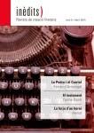 'INÈDITS - Revista de creació literària - Núm. 5 - Abril 2015'