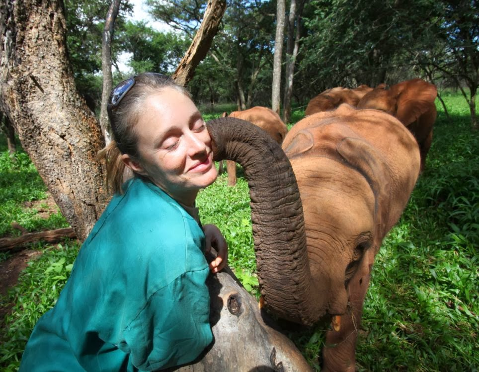 The Essex Girl Rachael Murton Who Has Dedicated Her Life Saving Elephant Orphans (Video)