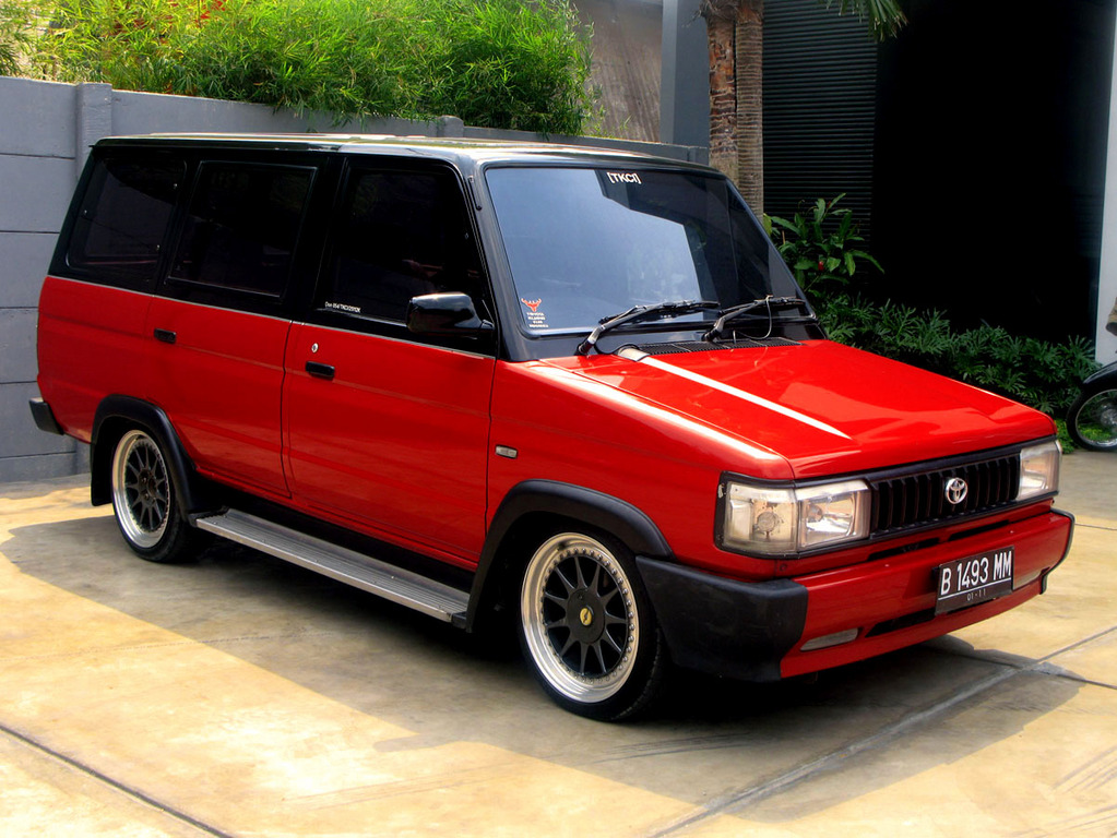 Modifikasi Toyota Kijang Super