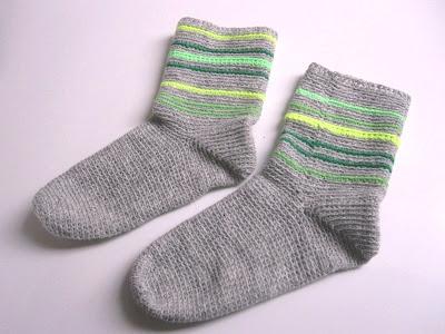 hæklede sokker til voksne