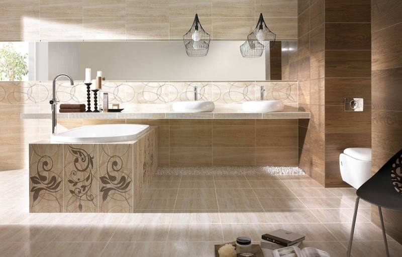 You Could Probably Think That A Bathroom In Beige Boring Works, But We Have  Put Together Some Wonderful Examples That Would Convince The Contrary.