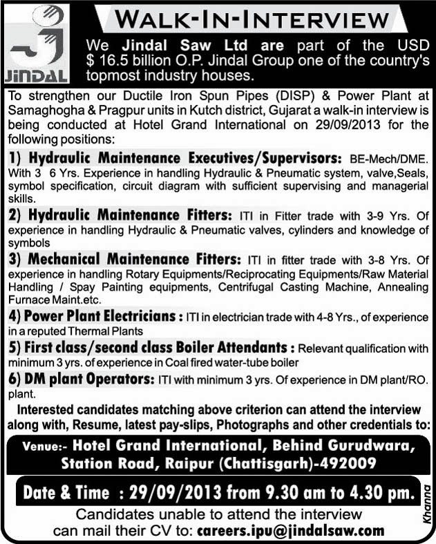 Fosroc Chemicals (India) Pvt Ltd in Ankleshwar :- Maintenance ...