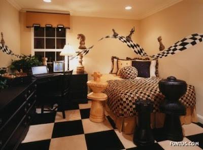 habitación temática juvenil