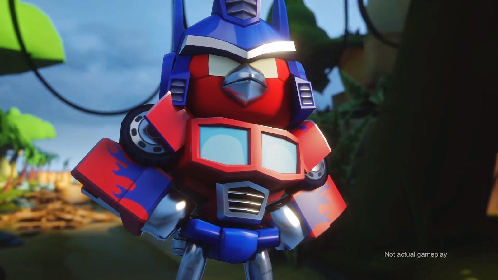 video game Angry Birds Transformers Rovie Entertainment