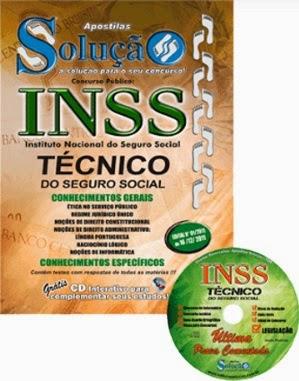 Apostila concurso público para Técnico do Seguro Social do Instituto Nacional do Seguro Social (INSS) 2014.