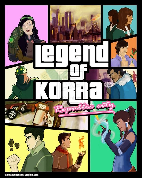 Legend of Korra GTA Version