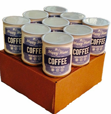 Roasting Coffee the Vintage Way at Happy Home Foods Etsy shop