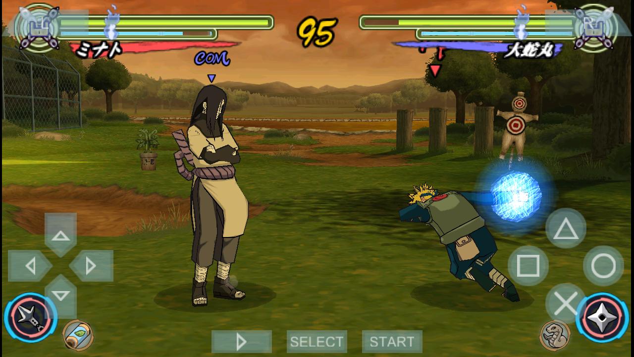 Download game naruto shippuden terbaru android apk
