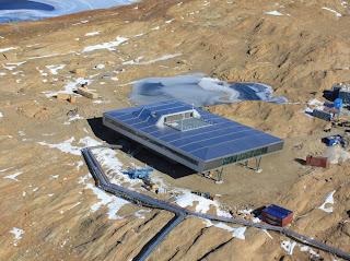 Base en la Antártica